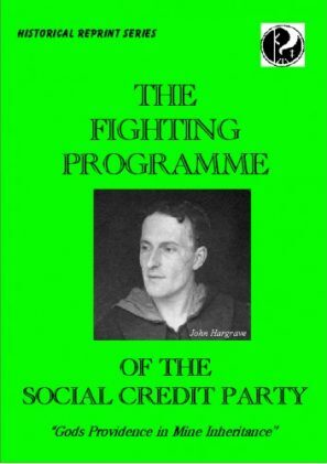 The Fighting Programme of the Social Credit Movement