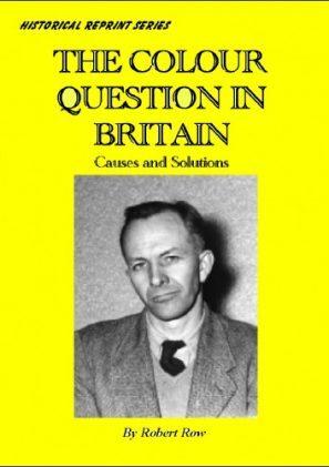 The Colour Question In Britain