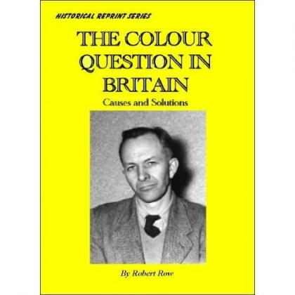 The Colour Question In Britain