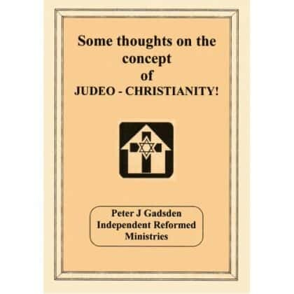 Judaeo Christianity: Some Thoughts on the Concept.