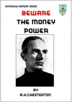 Beware The Money Power
