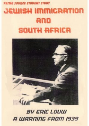 Jewish Immigration and South Africa 1939.