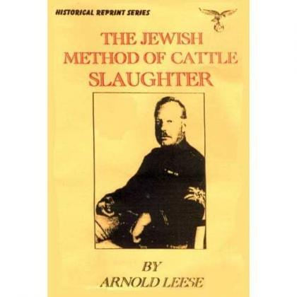The Jewish Method Of Cattle Slaughter