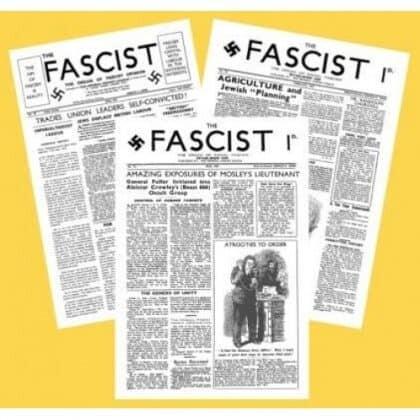 The Fascist Newspaper (Reprints)